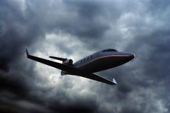 Ιδιωτικό αεριωθούμενο αεροπλάνο Στοκ εικόνα με δικαίωμα ελεύθερης χρήσης