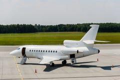 Ιδιωτικό αεριωθούμενο αεροπλάνο αεροπλάνων Στοκ Εικόνες