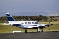 Ιδιωτικό αεριωθούμενο αεροπλάνο Στοκ εικόνες με δικαίωμα ελεύθερης χρήσης