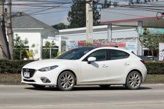 Ιδιωτικό αυτοκίνητο, Mazda3 Στοκ φωτογραφίες με δικαίωμα ελεύθερης χρήσης