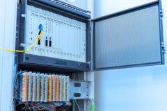 Ιδιωτικό αυτόματο eXchage κλάδων του τηλεφωνικού συστήματος Στοκ φωτογραφία με δικαίωμα ελεύθερης χρήσης