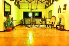 Ιδιωτικό καθιστικό VIP θερέτρου κατοικιών σε Negros Ασιάτης, Φιλιππίνες Στοκ φωτογραφίες με δικαίωμα ελεύθερης χρήσης