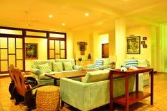 Ιδιωτικό καθιστικό VIP θερέτρου κατοικιών σε Negros Ασιάτης, Φιλιππίνες Στοκ Εικόνες