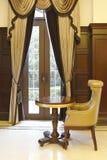 Ιδιωτικό δωμάτιο συνεδρίασης λεσχών πολυτελές Στοκ φωτογραφία με δικαίωμα ελεύθερης χρήσης