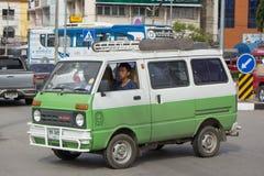 Ιδιωτικό Daihatsu παλαιό Van Car Στοκ εικόνες με δικαίωμα ελεύθερης χρήσης