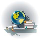 Ιδιότητες της εκπαίδευσης Στοκ εικόνα με δικαίωμα ελεύθερης χρήσης