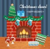 Ιδιότητες Χριστουγέννων εικόνες δώρων Χριστουγέννων καρτών περισσότερο το χαρτοφυλάκιό μου Ευθυμία Χριστουγέννων Επίπεδο σχέδιο δ απεικόνιση αποθεμάτων