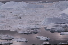 Ιλούλισσατ Icefjord Γροιλανδία Στοκ Φωτογραφία