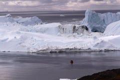 Ιλούλισσατ Icefjord Γροιλανδία Στοκ εικόνες με δικαίωμα ελεύθερης χρήσης