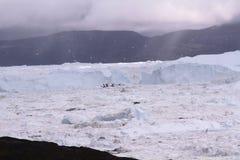 Ιλούλισσατ Icefjord Γροιλανδία Στοκ φωτογραφίες με δικαίωμα ελεύθερης χρήσης