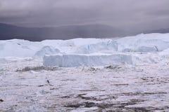 Ιλούλισσατ Icefjord Γροιλανδία Στοκ Φωτογραφίες