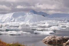 Ιλούλισσατ Icefjord Γροιλανδία Στοκ εικόνα με δικαίωμα ελεύθερης χρήσης