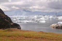Ιλούλισσατ Icefjord Γροιλανδία Στοκ φωτογραφία με δικαίωμα ελεύθερης χρήσης