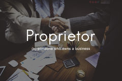 Ιδρυτής ιδιοκτητών επιχείρησης ιδιοκτητών πρόεδρος Management Concept στοκ φωτογραφία με δικαίωμα ελεύθερης χρήσης