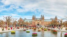 Ι σύνθημα του Άμστερνταμ μπροστά από Rijksmuseum Στοκ Εικόνα