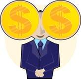 ι τα χρήματα βλέπουν Στοκ Εικόνα