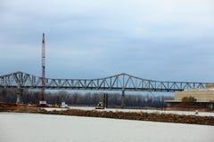 Ι-70 καταστροφή γεφυρών στοκ φωτογραφία με δικαίωμα ελεύθερης χρήσης