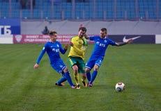 Ι Temnikov (11) εναντίον του Ρ Bugaev (43) Στοκ φωτογραφία με δικαίωμα ελεύθερης χρήσης