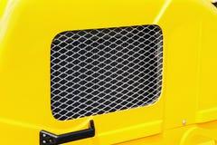 Κάγκελα προστασίας θερμαντικών σωμάτων, μηχανή, τρακτέρ, εκσκαφέας, φορτηγά Στοκ Εικόνες