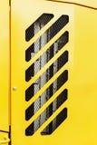 Κάγκελα προστασίας θερμαντικών σωμάτων, μηχανή, τρακτέρ, εκσκαφέας, φορτηγά Στοκ Εικόνα