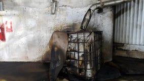 Κάδος για τα βιομηχανικά απόβλητα στοκ φωτογραφία με δικαίωμα ελεύθερης χρήσης