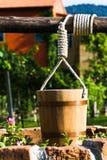 κάδος ξύλινος Στοκ εικόνες με δικαίωμα ελεύθερης χρήσης