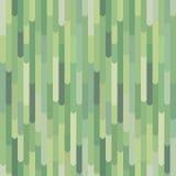 Κάθετα πράσινα οργανικά λωρίδες, διανυσματικό άνευ ραφής σχέδιο Στοκ Φωτογραφία