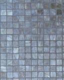 Κάθετη εικόνα υποβάθρου των μπλε-γκρίζων κεραμιδιών Στοκ φωτογραφίες με δικαίωμα ελεύθερης χρήσης