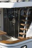 Κάθετη σκάλα στο σκάφος αναψυχής Στοκ φωτογραφίες με δικαίωμα ελεύθερης χρήσης