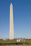 κάθετη όψη Ουάσιγκτον μνημ& Στοκ Εικόνες