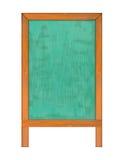 Κάθετος πίνακας κιμωλίας Στοκ φωτογραφία με δικαίωμα ελεύθερης χρήσης