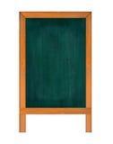 Κάθετος πίνακας κιμωλίας Στοκ φωτογραφίες με δικαίωμα ελεύθερης χρήσης