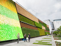 Κάθετος τομέας σε EXPO, η παγκόσμια έκθεση Στοκ φωτογραφίες με δικαίωμα ελεύθερης χρήσης