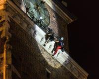 Κάθετος χορός θεάτρων οδών Στοκ Φωτογραφίες