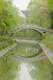 Κάθετο έμβλημα - πέτρινη γέφυρα αψίδων Στοκ φωτογραφίες με δικαίωμα ελεύθερης χρήσης