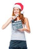 Κάθετο πορτρέτο ενός θηλυκού cinematographer Στοκ Εικόνα