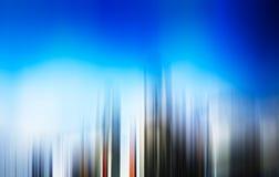 Κάθετο υπόβαθρο θαμπάδων κινήσεων ουρανοξυστών Στοκ Φωτογραφίες