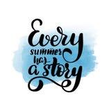 Κάθε καλοκαίρι έχει μια ιστορία ελεύθερη απεικόνιση δικαιώματος
