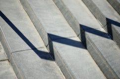 Κάθε σκάλα στη Γουώλ Στρητ Στοκ Εικόνα