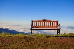 Κάθισμα για την καλή άποψη Στοκ Εικόνα