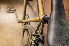 Κάθισμα ενός ποδηλάτου Στοκ Εικόνα