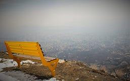 κάθισμα κίτρινο Στοκ εικόνα με δικαίωμα ελεύθερης χρήσης