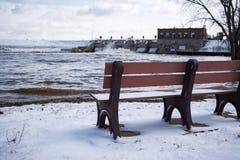 Κάθισμα με μια όψη Στοκ Εικόνες