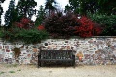 κάθισμα ξύλινο στοκ φωτογραφία με δικαίωμα ελεύθερης χρήσης