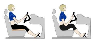 κάθισμα οδηγών s Στοκ Εικόνες