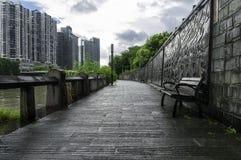 Κάθισμα πάρκων Στοκ Εικόνα
