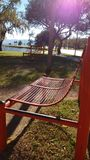 Κάθισμα πάρκων Στοκ φωτογραφία με δικαίωμα ελεύθερης χρήσης