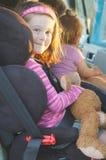 κάθισμα παιδιών αυτοκινήτων Στοκ Εικόνα