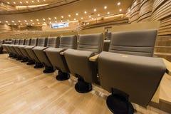 Κάθισμα πολυτέλειας στο θέατρο Στοκ εικόνες με δικαίωμα ελεύθερης χρήσης