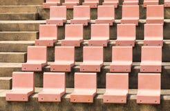 Κάθισμα στο υπαίθριο στάδιο Στοκ φωτογραφίες με δικαίωμα ελεύθερης χρήσης